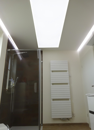 LED on the ceiling pure white