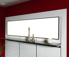 LUMITRON LED Panels dimmbar in multi-color, warmweiss oder reinweiss